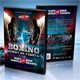 Boxing Muay Thai DVD Cover - GraphicRiver Item for Sale