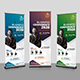 Conference Roll-Up Banner Template - GraphicRiver Item for Sale