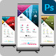 Creative Business Roll Up Banner - GraphicRiver Item for Sale