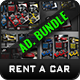 Rent a Car Advertising Bundle Vol.4 - GraphicRiver Item for Sale