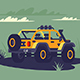 SUV in the Wild. - GraphicRiver Item for Sale