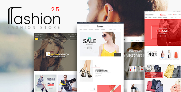 Fashion Store - Hanbags, Shoer RTL Responsive WooCommerce WordPress Theme - WooCommerce eCommerce