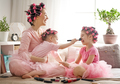Mom and children doing makeup - PhotoDune Item for Sale