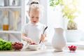 child having breakfast - PhotoDune Item for Sale