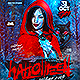 Halloween Red Hood Costume Party Flyer - GraphicRiver Item for Sale