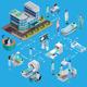 Hospital Health Screening Flowchart