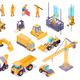 Construction Isometric Set