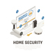 Home Security Design Concept - GraphicRiver Item for Sale