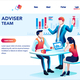 Infographic with Financial Chart - GraphicRiver Item for Sale