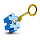 Key and Puzzle - GraphicRiver Item for Sale