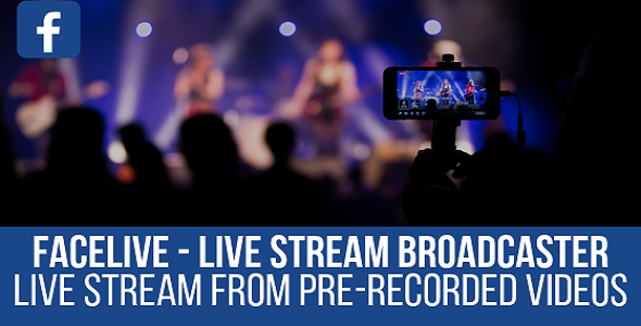 FaceLive - Live Stream Broadcaster Plugin for WordPress - CodeCanyon Item for Sale