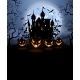 Halloween Background with Scary Pumpkins - GraphicRiver Item for Sale