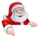 Santa Claus Christmas Cartoon Character - GraphicRiver Item for Sale
