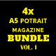 A5 Magazine Bundle Vol. I - GraphicRiver Item for Sale