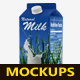 Milk / Juice Carton Mockup - GraphicRiver Item for Sale