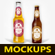 Beer Bottle Mockups V2.0 - GraphicRiver Item for Sale
