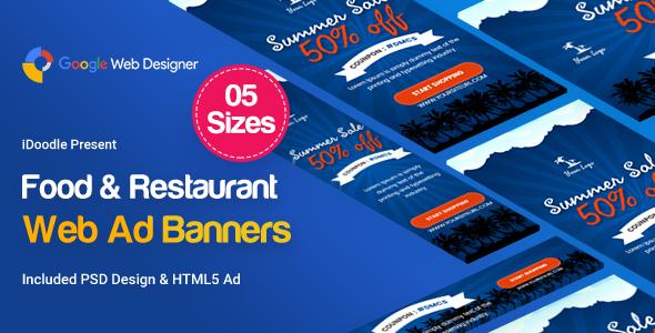 Summer Sales Banners HTML5 - Google Web Designer            Nulled