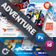 Adventure Postcard Bundle Templates - GraphicRiver Item for Sale
