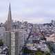 Diverse Neighborhoods Cover the Hillside that makes up San Francisco - PhotoDune Item for Sale