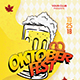 Oktober Festival Flyer