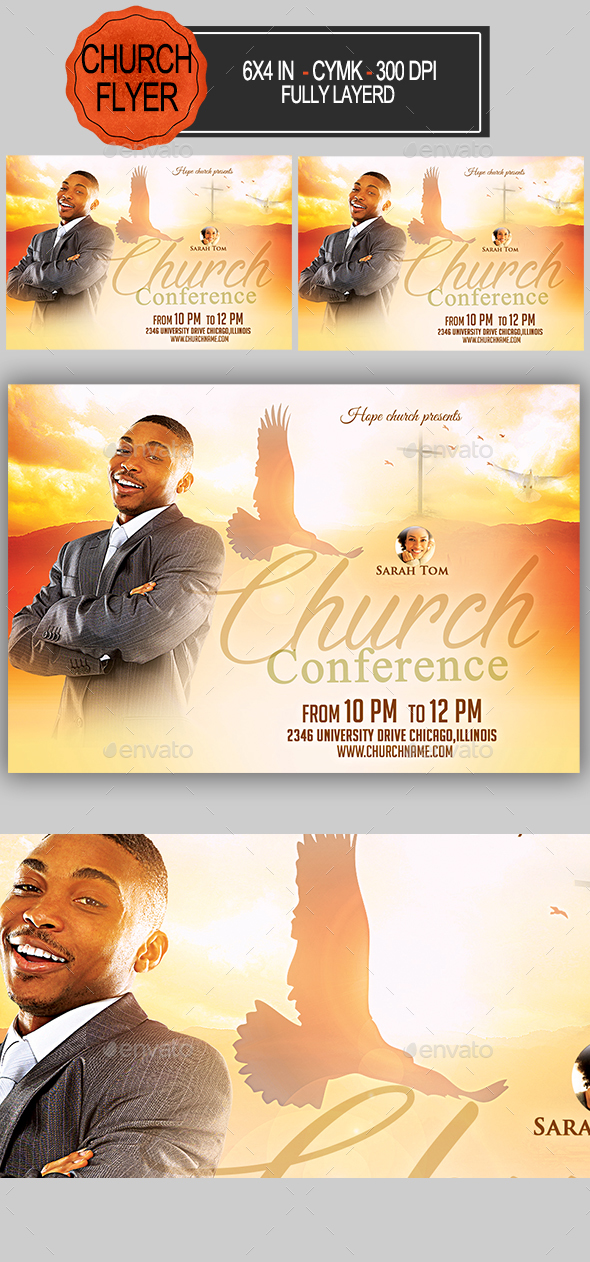 Church Conference Church Flyer - Church Flyers