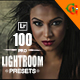 100 Pro Lightroom Presets B-Graphicriver中文最全的素材分享平台