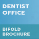 Dentist Office Bifold / Halffold Brochure 6