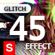 Glitch Effect Photo 45 Photoshop Templates - GraphicRiver Item for Sale