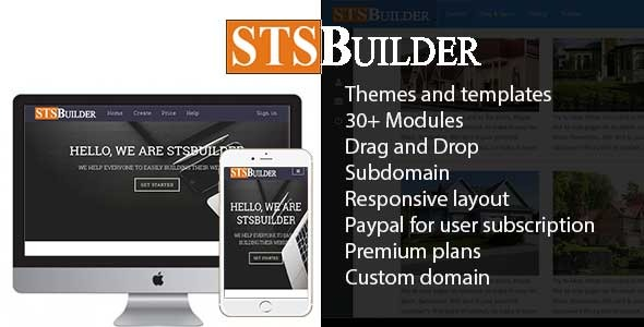 STSBuilder -  Website Builder Service - CodeCanyon Item for Sale