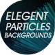 Elegant Particles Backgrounds - VideoHive Item for Sale