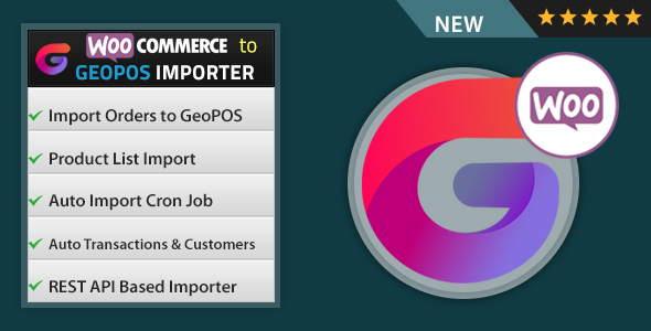 WooCommerce to Geo POS Importer            Nulled