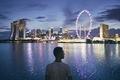 Singapore at dusk - PhotoDune Item for Sale