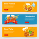 Oktoberfest Beer Festival Banners - GraphicRiver Item for Sale