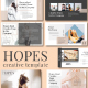 Hope Google Slide Template - GraphicRiver Item for Sale