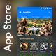 App Store UI kit | AppZilla - GraphicRiver Item for Sale