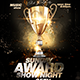 Award Show Flyer - GraphicRiver Item for Sale