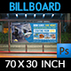 Travel Company Billboard Template Vol.2 - GraphicRiver Item for Sale