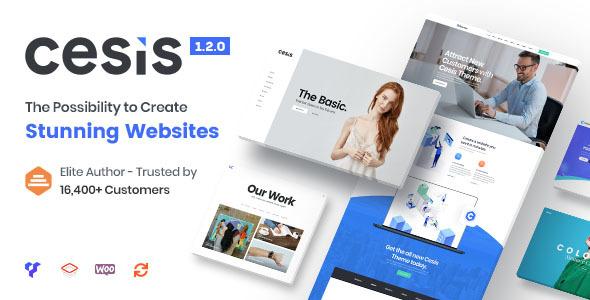 Cesis | Responsive Multi-Purpose WordPress Theme