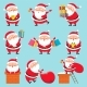 Cartoon Santa Character - GraphicRiver Item for Sale