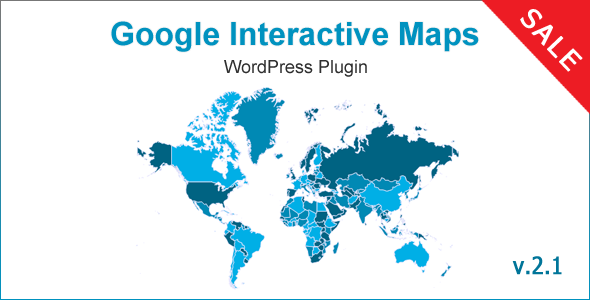 Google Interactive Maps - CodeCanyon Item for Sale