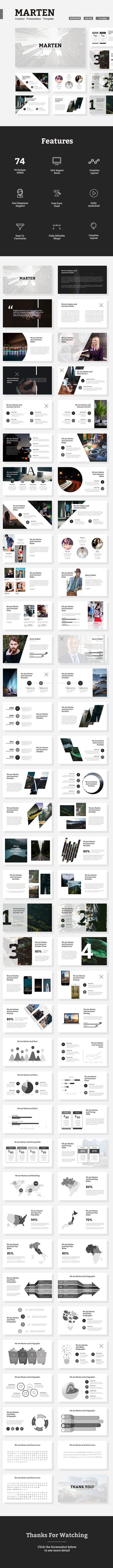 Marten - Creative Powerpoint Template - Creative PowerPoint Templates