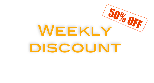 Weekly discount