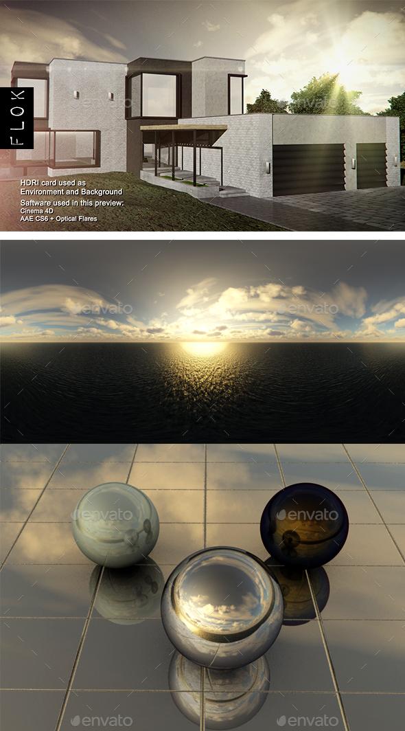 Dusk Sea 3 - 3DOcean Item for Sale