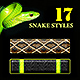 17 Snake Skin Styles - GraphicRiver Item for Sale
