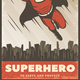 Vintage Colored Superhero Poster - GraphicRiver Item for Sale