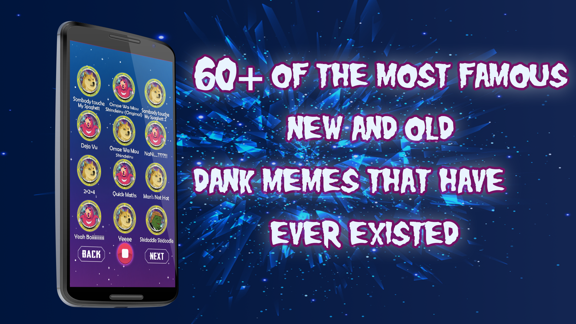 Funny Dank meme soundboard for android/eclipse  Admob/bbdoc included