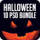 Bundle Of 10 PSDs Halloween Flyer / Poster - GraphicRiver Item for Sale