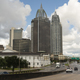 Highway Traffic Mobile Alabama Downtown City Skyline Gulf Coast - PhotoDune Item for Sale