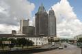 Highway Traffic Mobile Alabama Downtown City Skyline Gulf Coast - PhotoDune Item for Sale