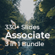 Associate 3 in 1 - Bundle Creative Google Slide Template